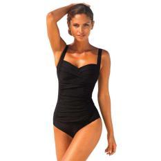 Baju Renang Wanita Vintage Monokini Swimsuit