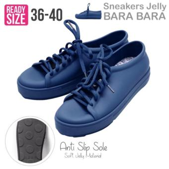 Bara Bara Jelly Shoes Sepatu Jelly Sneakers Silikon Shoes Cewek Silicone Kets VIO1