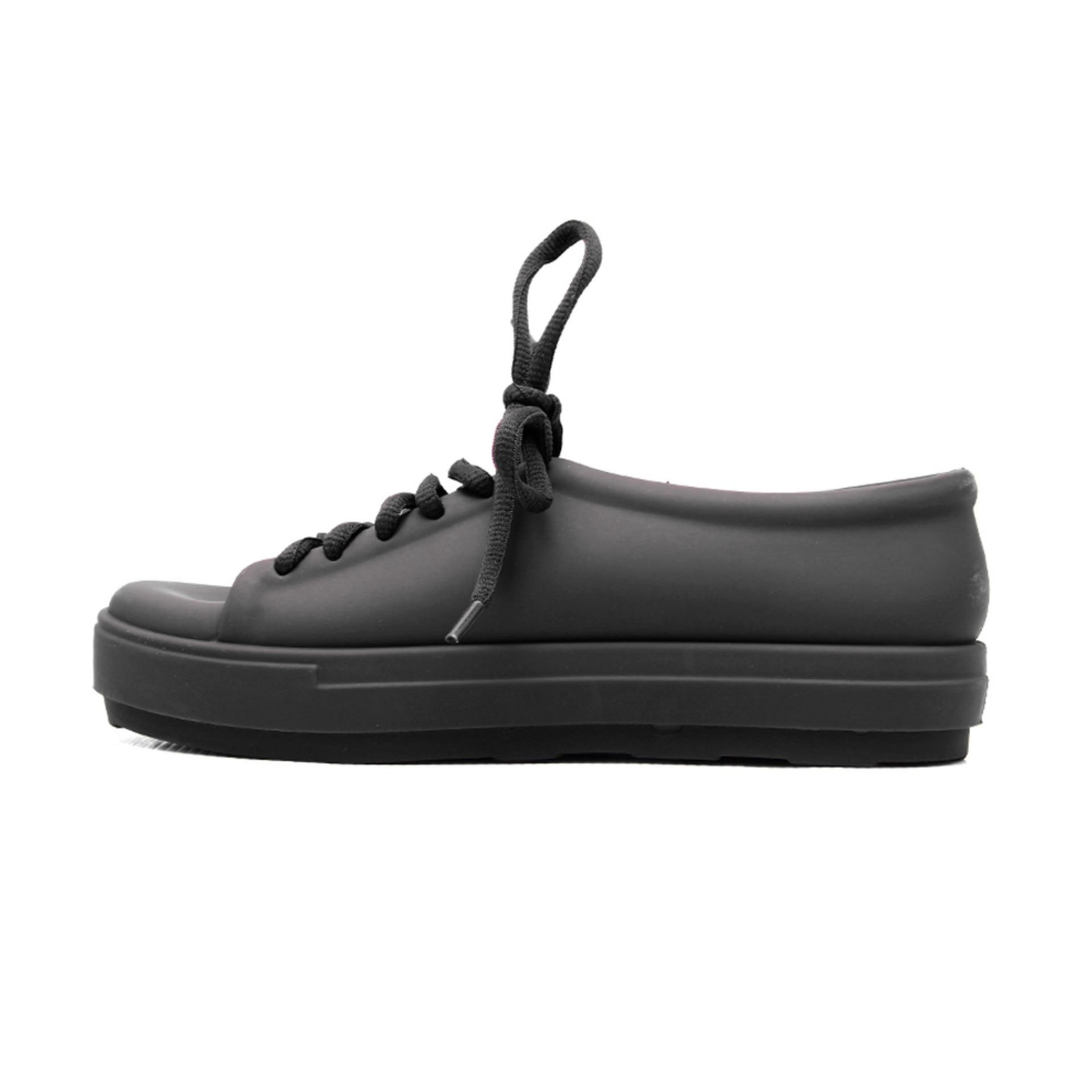 Bara Bara Sepatu Jelly Sneakers Silikon Shoes Cewek Silicone Kets -DD6382ELS - Black .