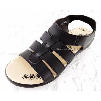 Bata Sandal Wanita Cantik 561-6550 Hitam - 3