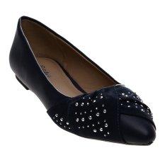Bata Uniqu Ballerina Shoes - Biru