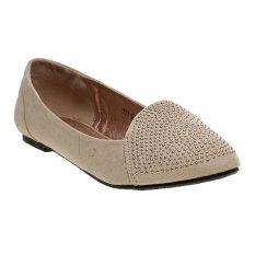 Bata Unity Flats Shoes - Beige