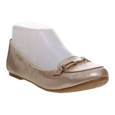 Bata Valti Ballerina Shoes - Beige