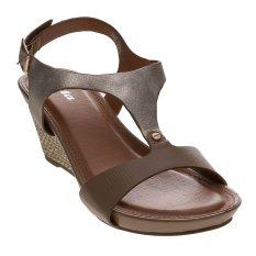 Bata Wiste Wedge Sandals - Kuning