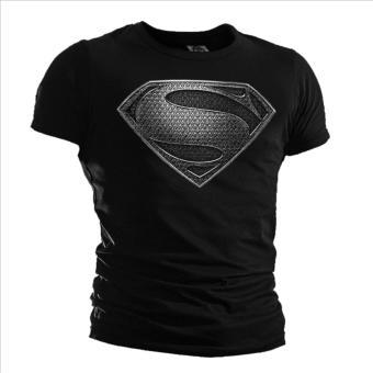 harga Batman VS Superman Super Shirt kaos pria kemeja Slim Tops olahragakasual s-3xl (hitam) - International Lazada.co.id