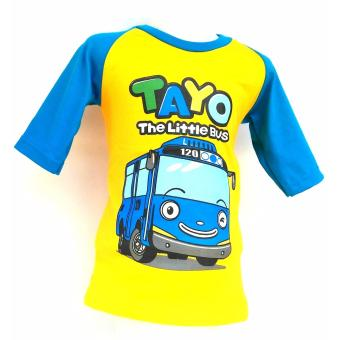 BEST SELLER BAJU KARAKTER ANAK TAYO THE LITTLE BUS ( YELLOW )