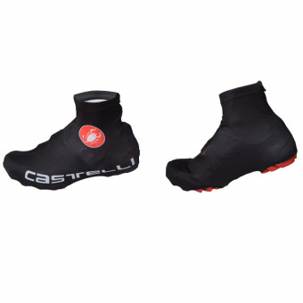 Bicycle Windproof Overshoes Shoe Covers Bike Cycling ZipperedSportwear Protect Black