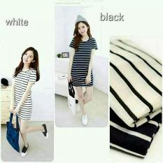 Biecollection Long Stripe Minidress
