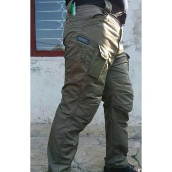 Big Size Blackhawk Celana Tactical Panjang- Hijau Army