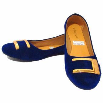 ... Binev Sepatu Slip On Wanita Develop 0010 - Blue - 5
