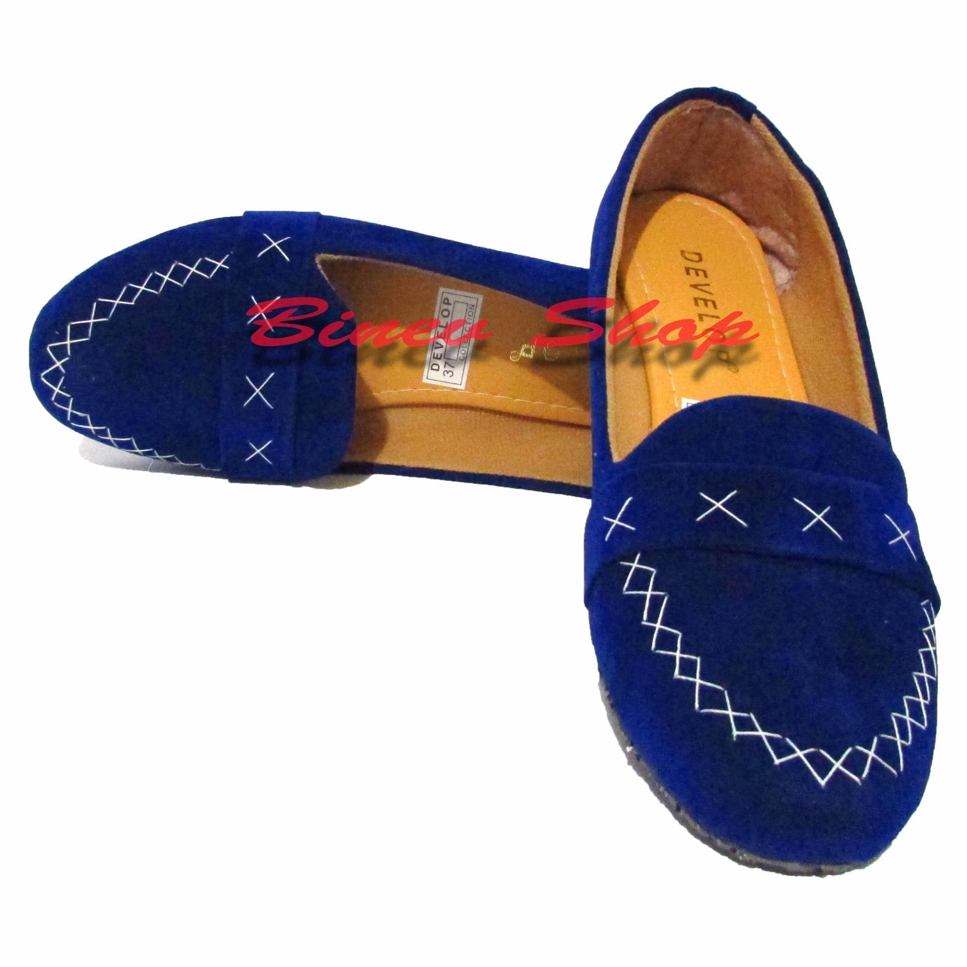 Woman Choice Flat Shoes Develop 25 Sepatu Balet Hitam. Source · San Antonio Heel,. Source · Binev Sepatu Slip On Wanita Develop 008 - Blue .