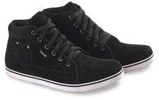 Blackkelly LHO 161 Sepatu Sneaker Anak Laki-Laki Kulit Sol Karet Bagus (Hitam)