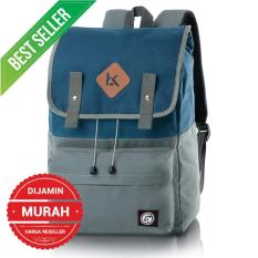 Blackkelly Tas Ransel / Laptop / Backpack Vintage Unisex Pria Wanita Murah Original