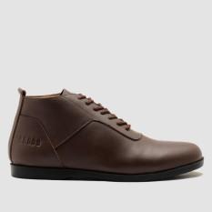 BRODO- Sepatu Pria Toraja Brown Black Sole