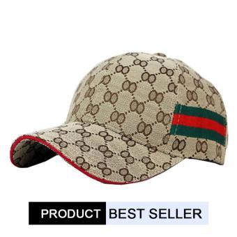 Brother Store Topi Baseball Snapback Cap Golf G-Metric Cap - Brown Premium