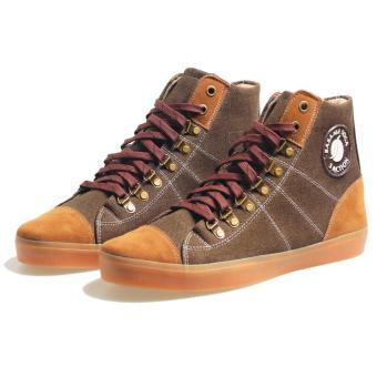 Bsm Soga Brm 519 Sepatu Sneakers Pria - Bahan Synth - Bagus Dan Keren(Coklat