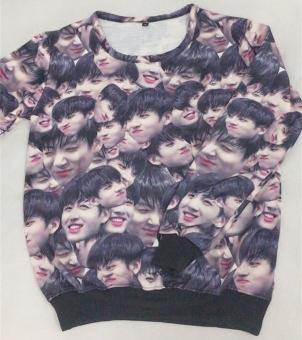 BTS Anti Peluru Ayat Yang Sama Potret Pencetakan Sweater (Sweater) (Sweater)