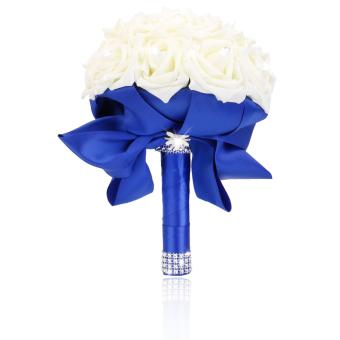 harga Buatan Mawar Buket Untuk Pernikahan Gadis Pengiring Pengantin BungaGading Lazada.co.id