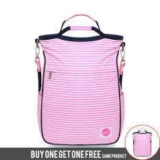 BUY 1 GET 1 FREE Exsport Backpack Deloma - Pink
