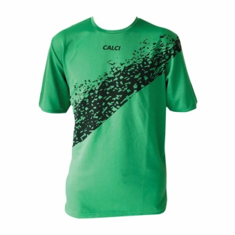 Calci Baju Kiper (Goalkeeper) Empire GK Jersey Short Sleeve - Green Black