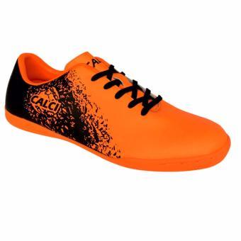 Calci Sepatu Futsal Anak Empire Jr - T.Orange/Black