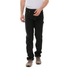 Carvil Huston Jeans Pria - Cokelat Tua