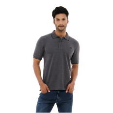 Carvil Misty-Gry Polo Shirt Man - Grey