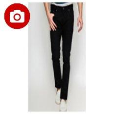 Carvil Muji-Blk Mens Jeans - Black