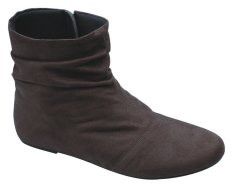 Catenzo Sepatu Casual Boots Wanita - Coklat
