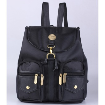 Catenzo Tas Ransel Wanita Synthetic Women Bag - Best Seller (Black)