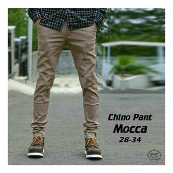 Celana panjang cino pants mocca