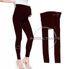 Celana Hamil / Leging / Legging Hamil / Pakaian Celana Panjang Hamil Melar Awet Jumbo Long Pant LG-01/MAROON