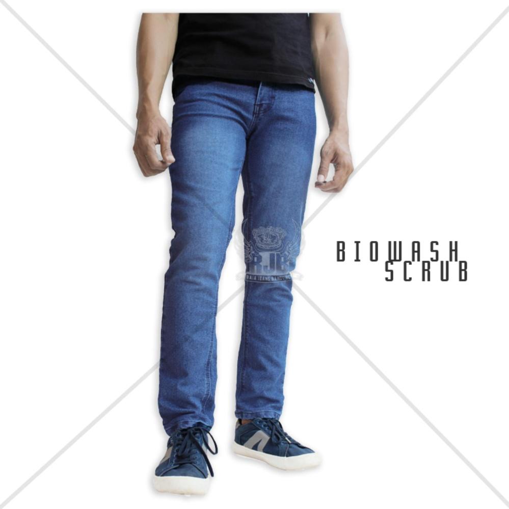 Perbandingan Harga Celana Jeans Pria Skinny Cheap Monday Biowash