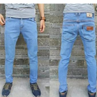 Celana Jeans Pria Wrangler Slim Fit