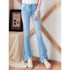 Celana Jeans wanita fashionable - Hw CUTBRAY Birumuda Triangle BB - Ancien Store