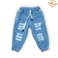Celana Jogger Jeans Long Ripped Untuk Anak
