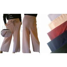 Celana Kulot Panjang Murah Bahan Crepe - Celana Wanita