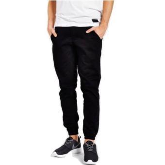 Celana Panjang Jogger Chino Premium - HITAM