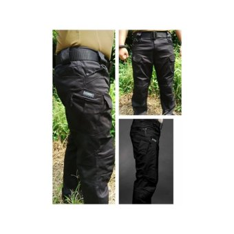 Celana Panjang Tactical Army Blackhawk Hitam