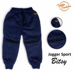 Celana Sport Joger Anak Bitsy Warna Navy