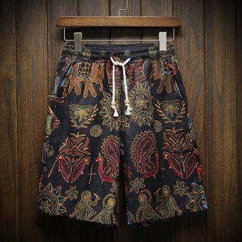 Showcai Celana Kotak Santai Wanita Gaya Korea. Source · Celana Bermuda Pria Him Kering Motif Cetak Trendi (13 Warna) (Warna)