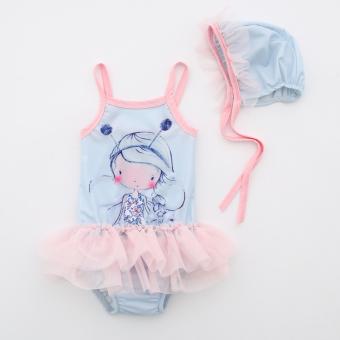 Pelacakan Harga CHICKIDS putri baru tutu gadis pakaian renang anak baju renang (Gambar warna) Bandingkan Toko