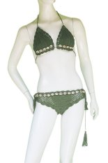 CITY B**CH Special Swimming Suit Chrocet light Green