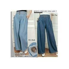 Cj collection Celana kulot panjang wanita jumbo long pant Andini