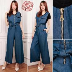 Cj collection Jumpsuit celana panjang wanita jumbo overall long pant .