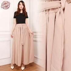 Cj Collection Rok maxi payung panjang wanita jumbo long skirt Weni