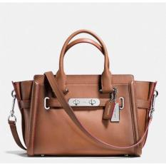 Coach Swagger 27 Burnished Leather 38372 Authentic