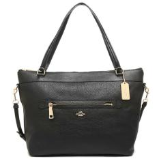 Coach Tyler Black Leather LARGE Authentic