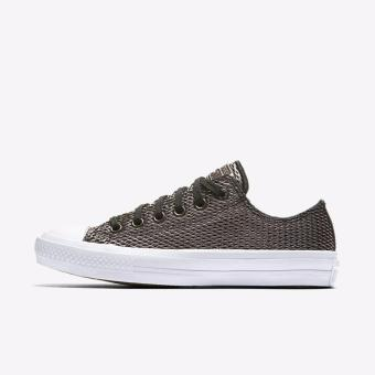 Converse Chuck Taylor 2 Perforated Metallic Lunarlon Ox - Black
