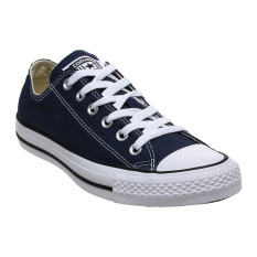 Converse Chuck Taylor All Star Classic Colour Low Top Sepatu Sneakers - Navy